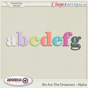 We Are The Dreamers - Alpha by Aprilisa Designs