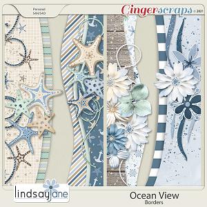 Ocean View Borders by Lindsay Jane