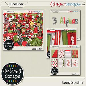 Seed Spittin' BUNDLE by Heather Z Scraps