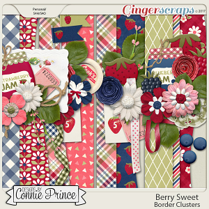 Berry Sweet - Border Clusters