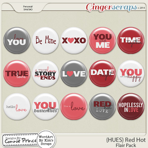 {HUES} Red Hot - Flair Pack
