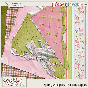 Spring Whispers Shabby Papers