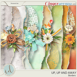 Up, Up And Away Borders by Ilonka's Designs