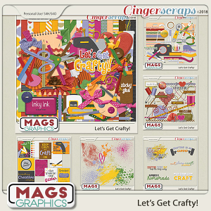 Let's Get Crafty BUNDLE by MagsGraphics