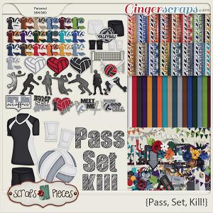Pass, Set, Kill Bundle by Scraps N Pieces