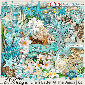 Life Is Better At The Beach by LDragDesigns