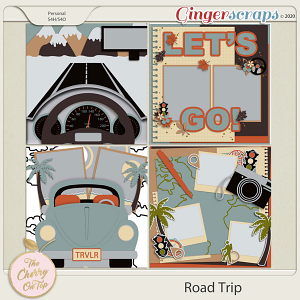 The Cherry On Top Road Trip Templates