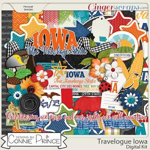 Travelogue Iowa - Kit by Connie Prince