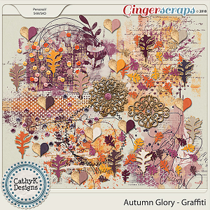 Autumn Glory - Graffiti by CathyK Designs