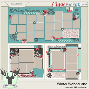 Jan 2016 Buffet: Winter Wonderland