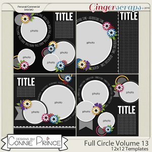 Full Circle Volume 13 - 12x12 Temps (CU Ok) by Connie Prince