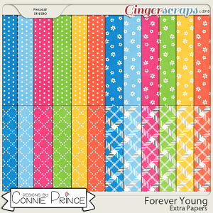 Forever Young - Extra Papers by Connie Prince