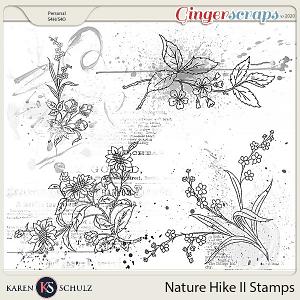 Nature Hike II Stamps by Karen Schulz
