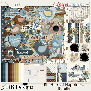 Bluebird of Happiness Bundle by ADB Designs
