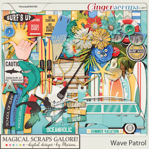 Wave Patrol (page kit)