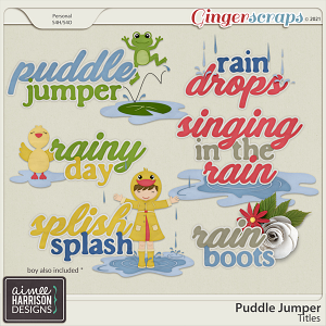 Puddle Jumper Titles by Aimee Harrison