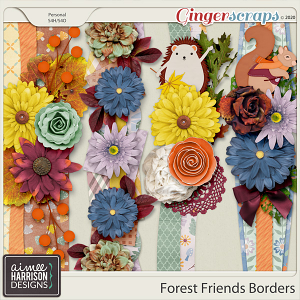 Forest Friends Borders by Aimee Harrison
