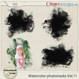 Watercolor photomasks Vol.11