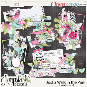 Just a Walk in the Park {Torn Clusters} by Jumpstart Designs