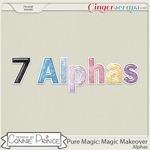 PureMagic: Magic Makeover - Alpha Pack AddOn by Connie Prince