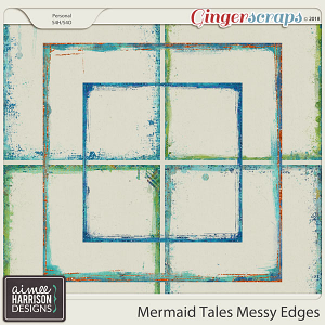 Mermaid Tales Messy Edges by Aimee Harrison
