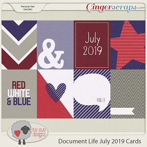 Document Life July 2019 Cards by Luv Ewe Designs