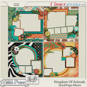 Kingdom Of Animals - QuickPages
