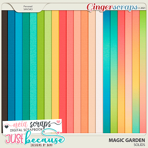 Magic Garden Solids by JB Studio and Neia Scraps