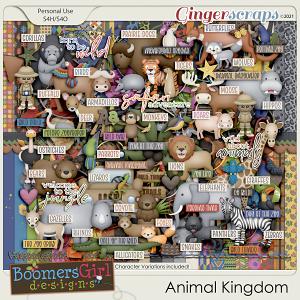 Animal Kingdom by BoomersGirl Designs