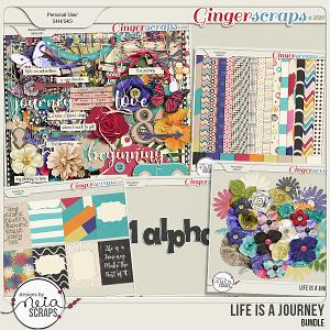 Life is a Journey - Bundle - by Neia Scraps