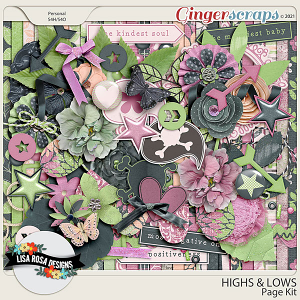 Highs and Lows - Page Kit by Lisa Rosa Designs
