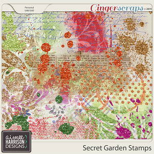 Secret Garden Stamps by Aimee Harrison