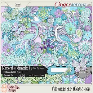 Memorable Memories Page kit