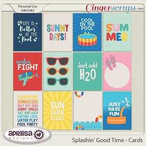 Splashin' Good Time - Cards by Aprilisa Designs