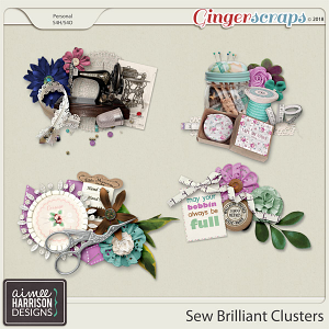 Sew Brilliant Clusters by Aimee Harrison
