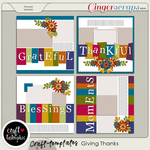 Craft ❤ Templates Giving Thanks