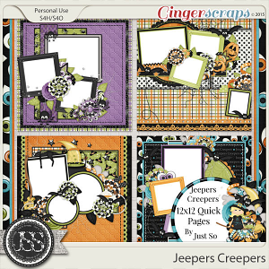 Jeepers Creepers Quick Pages