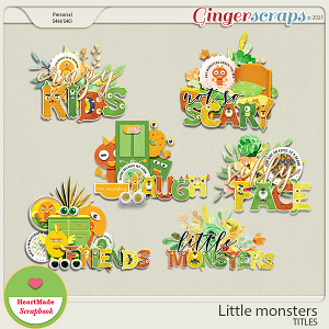 Little monsters - titles