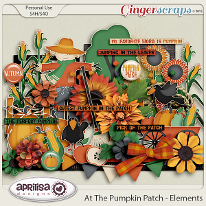 At The Pumpkin Patch - Elements by Aprilisa Designs