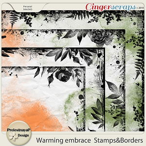 Warming embrace Stamps&Borders
