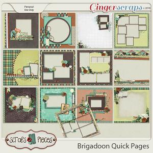 Brigadoon Quick Pages by Scraps N Pieces