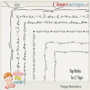 Page Borders 04 By Cutie Pie Scraps