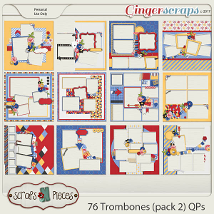 76 Trombones Quick Pages Pack 2