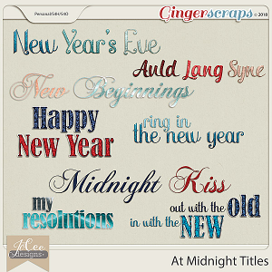 At Midnight Titles by JoCee Designs