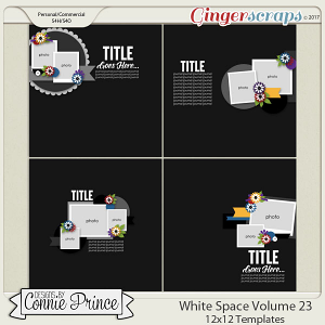 White Space Volume 23 - 12x12 Temps (CU Ok)