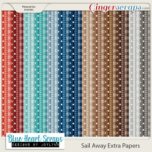 Sail Away Extra Paper Pack