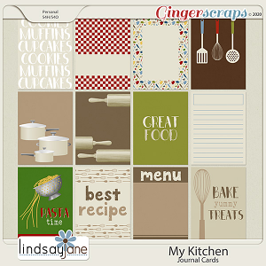My Kitchen Journal Cards by Lindsay Jane