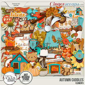Autumn Cuddles - Elements- by Neia Scraps and JB Studio