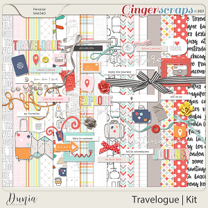 Travelogue Kit by Dunia Designs