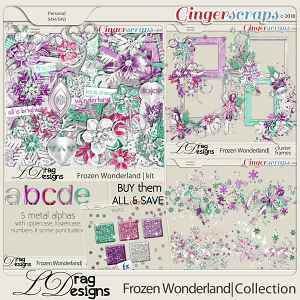 Frozen Wonderland: The collection by LDragDesigns